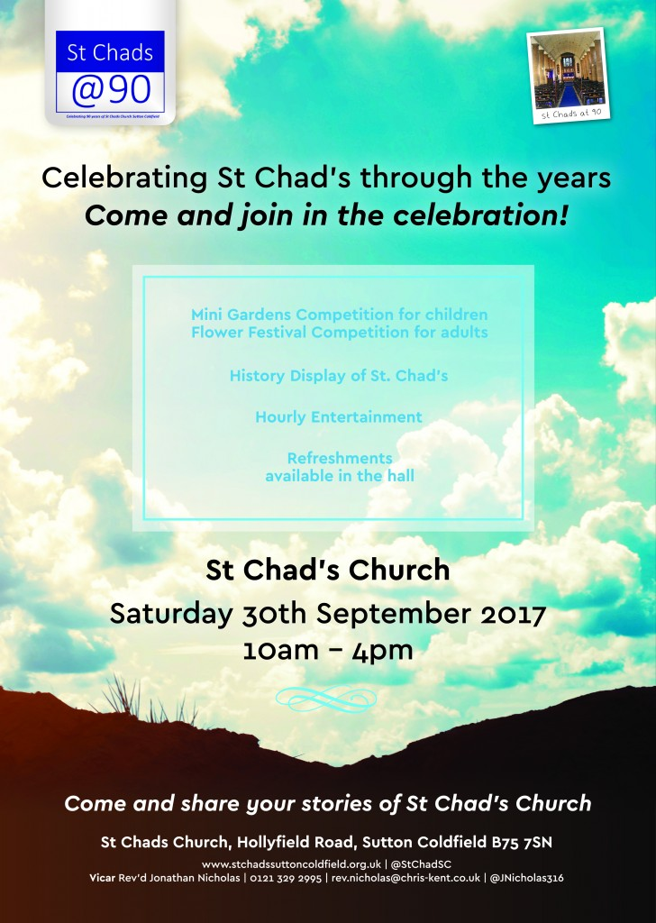 St Chads Poster
