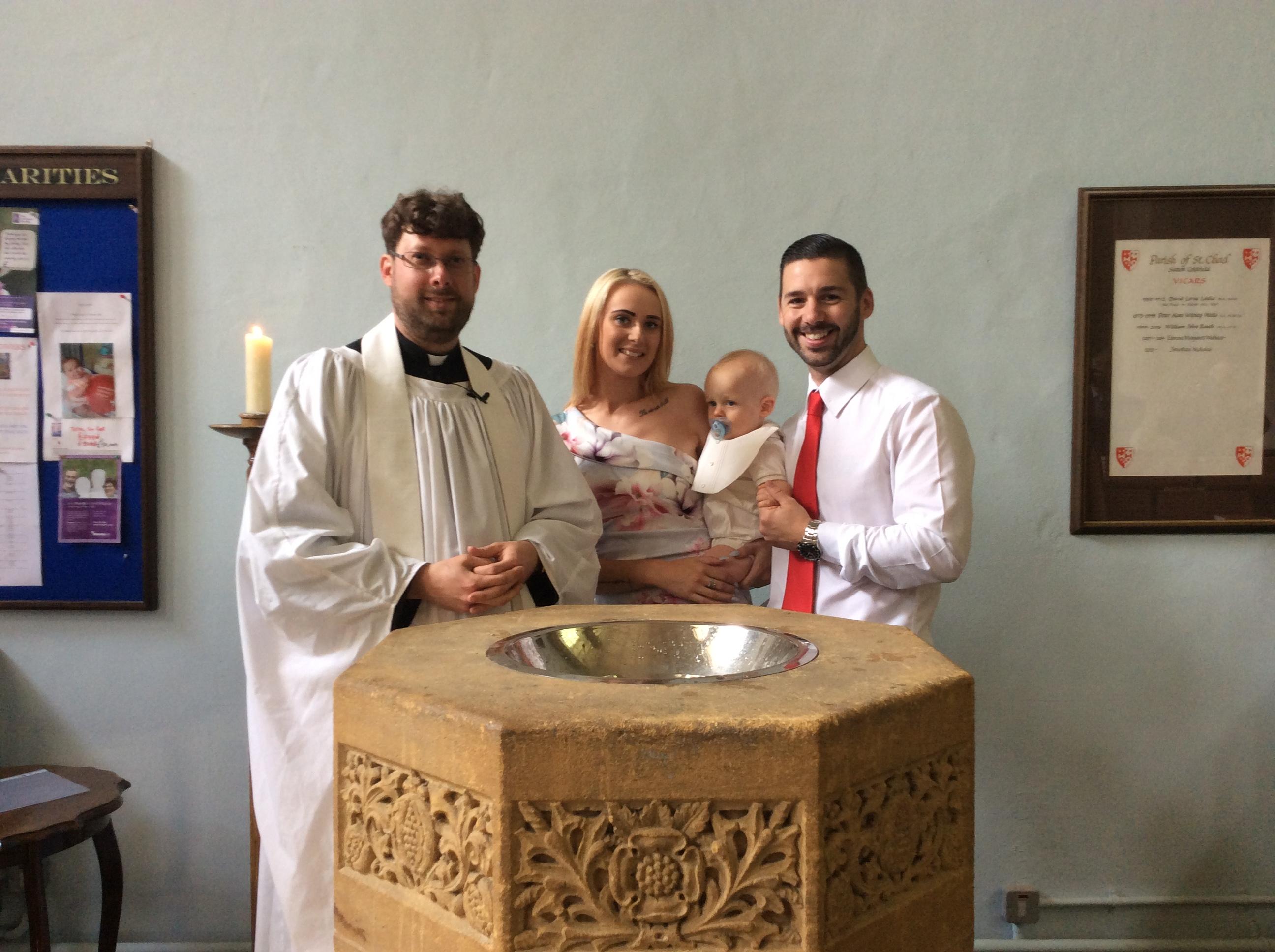christening Sutton Coldfield